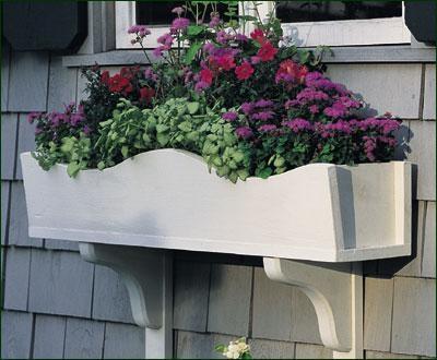 Flower Boxes Missisquoi Cupolas