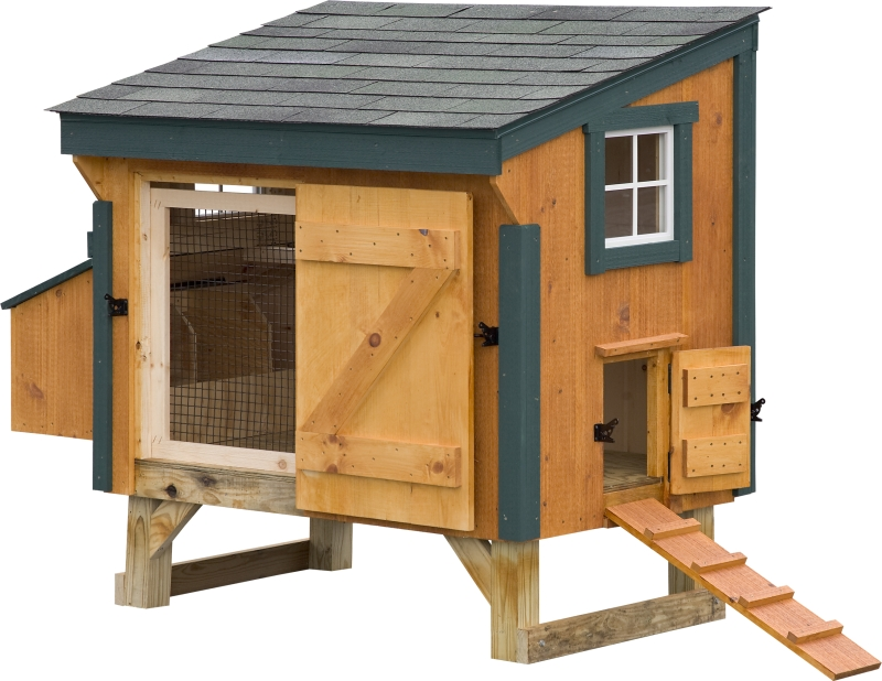 Chicken coop for Garden shed 3x5