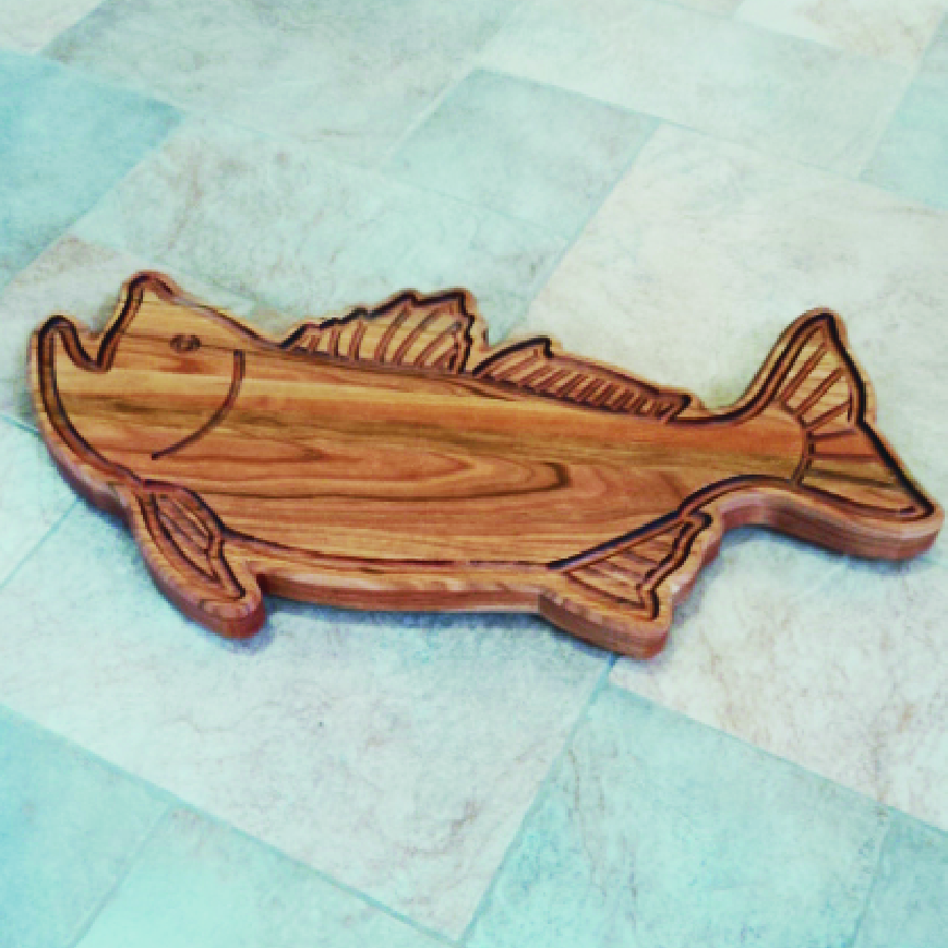 Fish Cutting Boards Missisquoi Cupolas