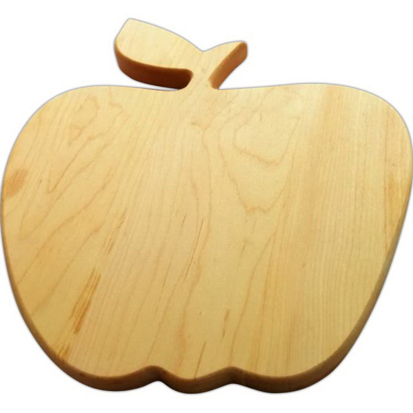 apple, custom cutting board